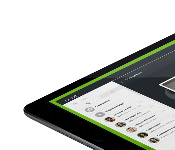 Collaboration and communication software by Unify